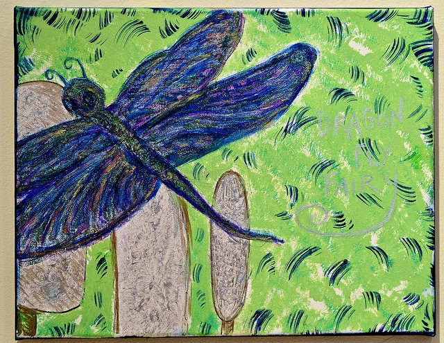 Dragon Fly Blue